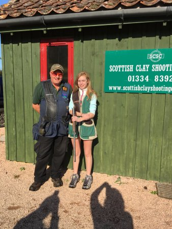 Leuchars, UK: Proud Ron. Proud Katie. Good shots each. Thank you For a great time!