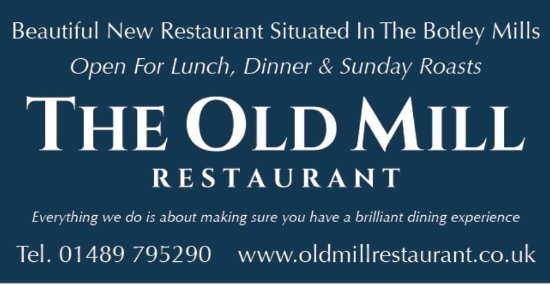Botley, UK: The Old Mill Restaurant