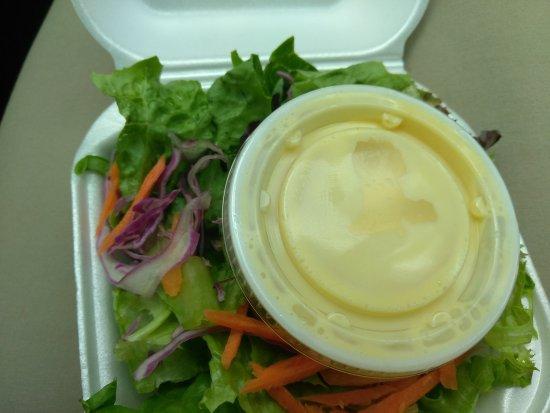 Miramar, FL: Shrimp and salad