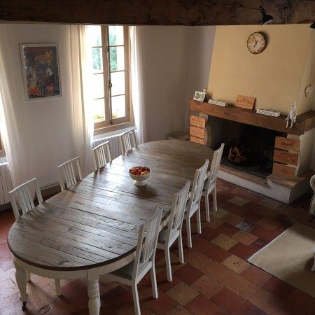 Saint Magne de Castillon, Francia: Breakfast Room
