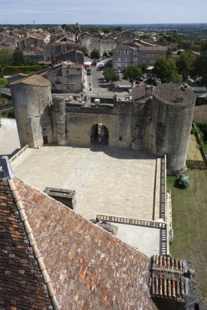 Château de Duras - view from the very top