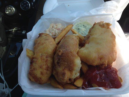 Tiverton, Канада: FISH & CHIPS!