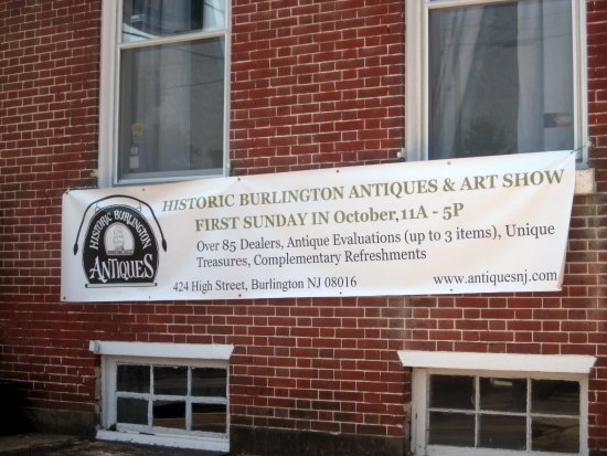 Burlington, NJ: October Antiques & Art Show Announcement