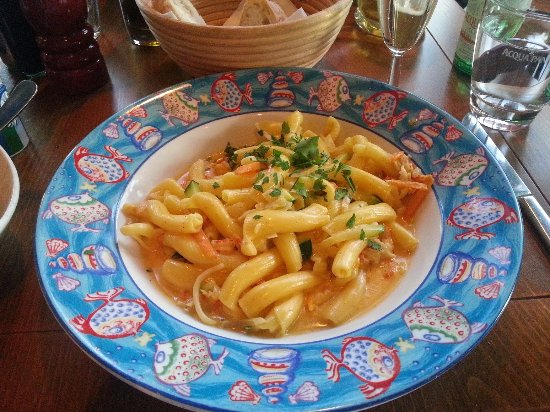 L'Osteria: Pasta with cray fish