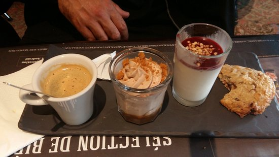 Café gourmand un régal ! picture of au bureau grenoble tripadvisor