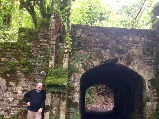Lismore, Ierland: The staff tunnel
