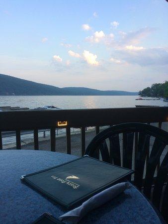 Dinner on Greenwood Lake