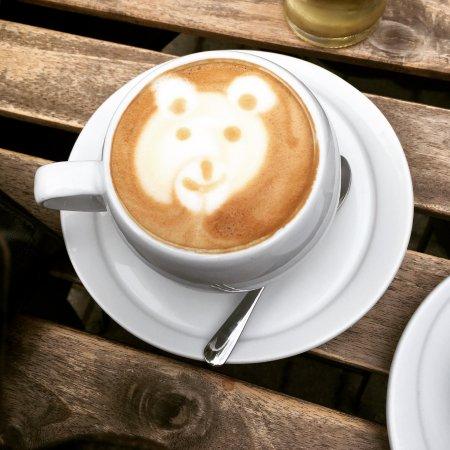 Papa, Hongrie : Latte art