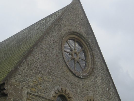 Dorset, UK: Window at end of church.