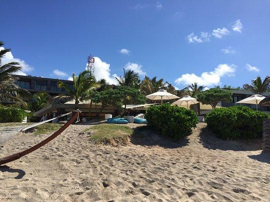 Radisson Blu Poste Lafayette Resort & Spa, Mauritius: From the sea