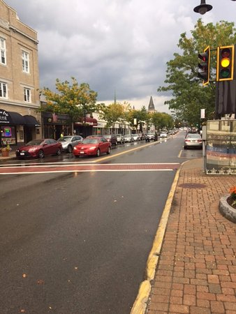 Byblos Restaurant: Washington Street out in front