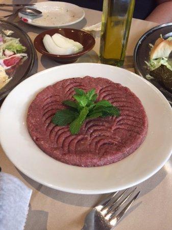 Byblos Restaurant: Kibbi Naya
