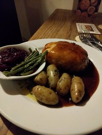 Iden, UK: Game Pie with New Potatoes and Seasonal Veg