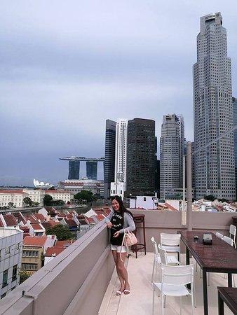 Jayleen 1918 Hotel: Hotel terrace view