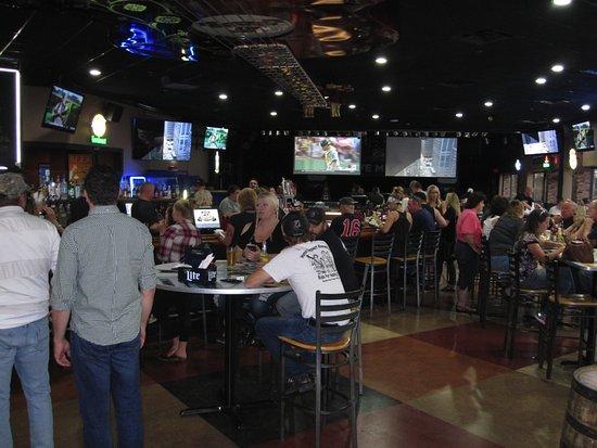 Fridley, MN: Bar area