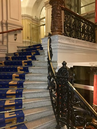 Elite Plaza Hotel Goteborg: The beautiful staircase