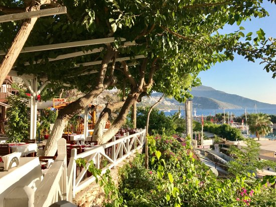 Akin Restaurant: Stunning view and delicious food! One of the best places in Kalkan!