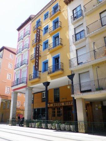 L'Hotel Hispania dall'esterno.
