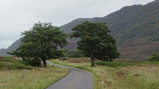 Glen Strathfarrar: onderweg in de glen
