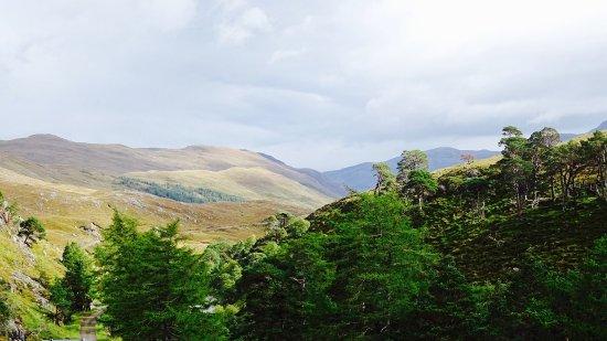 Glen Strathfarrar: uitzicht