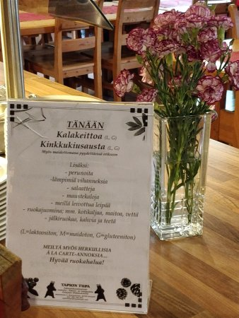 Kalajoki, فنلندا: Päivän lounas