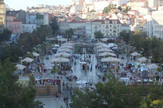 Hotel Mundial: Vista a la plaza