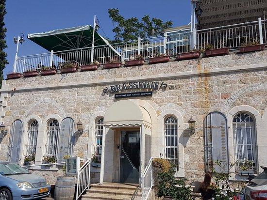 brasserie ein kerem: ресторан