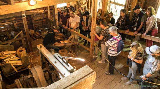Grandes-Piles, Canadá: Visitez notre moulin à scie