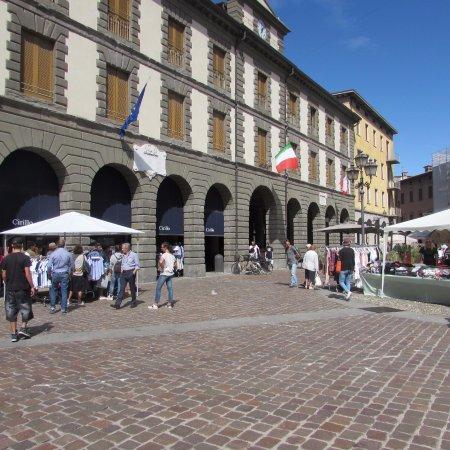 Iseo, Italien: piazza garibaldi
