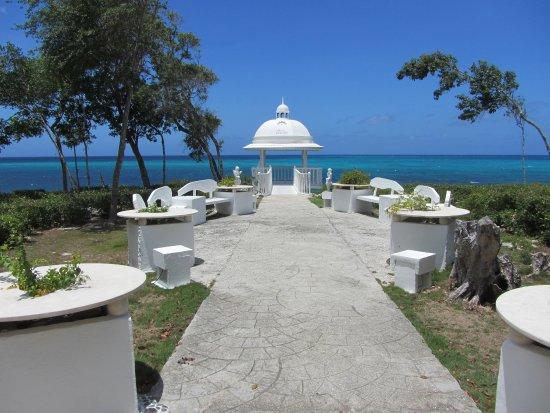 Paradisus Rio de Oro Resort & Spa: nice sea view