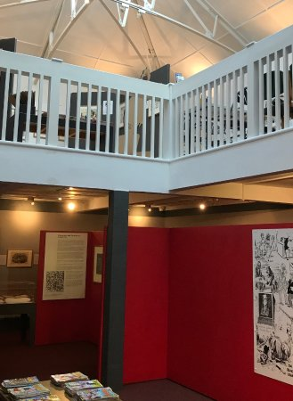 The Cartoon Museum: On Two Floors