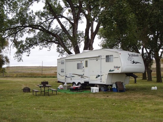 Camp Spot With Picnic Table At Ballards Marsh Wildlife Management - Picnic table trailer