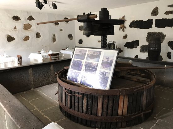 Santa Brígida, España: An old wine press, I assume