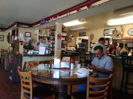 Durham, Kalifornia: Red Rooster Cafe
