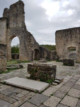 Kanfanar, Croatie : Dvigrad - Ruine