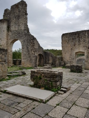 Kanfanar, Хорватия: Dvigrad - Ruine