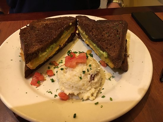 Miss Shirley's : Southern Slammer Sandwich. Yummy!