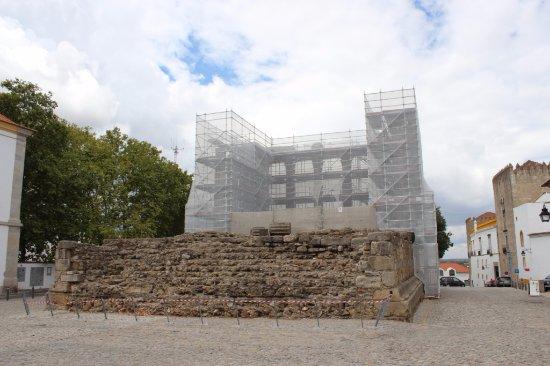 Templo Romano de Évora (Templo de Diana): świątynia w remoncie