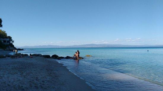 Afytos Beach: Παραλία Άφυτος