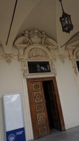 Province of Turin, Italië: Ana bina birinci kat salon kapısı