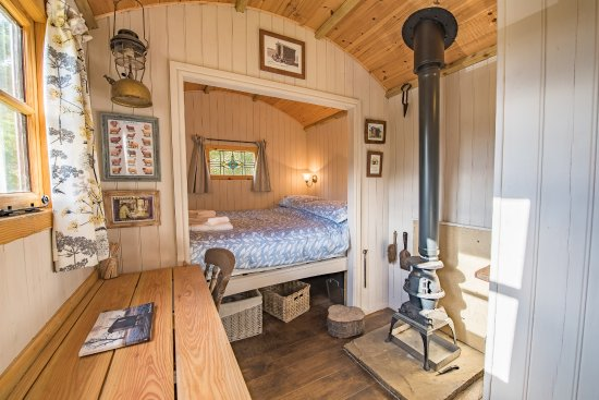 Appletreewick, UK: Shepherds Hut Accommodation