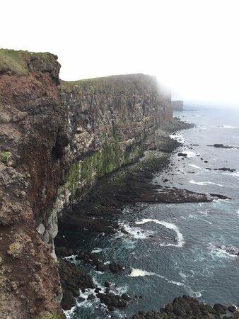Latrabjarg, Island: Cliffs
