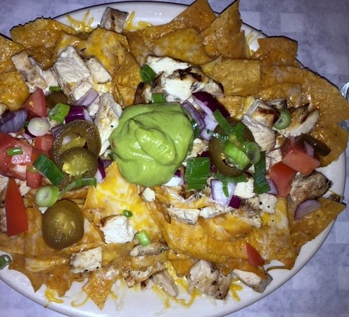 Rockville Centre, Nowy Jork: VERY filling nachos