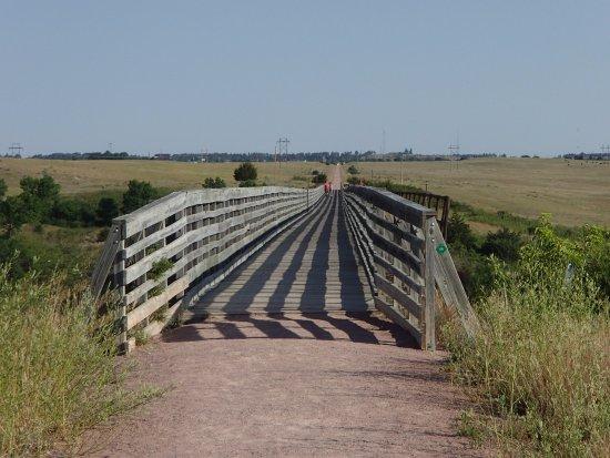 Cowboy Trail: Trail Surface And Guard Rails, Cowboy Bridge Near Valentine,  NE