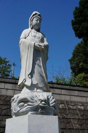 Hirono-cho, Japón: 観音様も併設