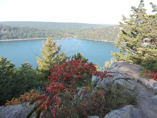 Baraboo, WI: View of Devil's Lake
