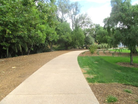 Jose Higuera Adobe Park: Walk Way, Jose Higueara Adobe Park, Milpitas, Ca