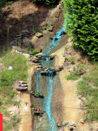Tiger, GA: Blue mountain stream