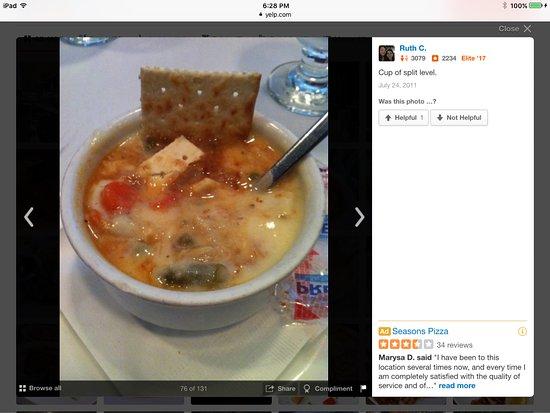 Timonium, MD: Crab soup