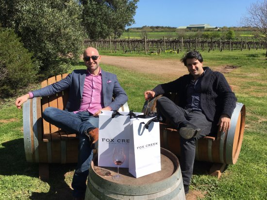 McLaren Vale, Austrália: Picturesque outdoor tasting
